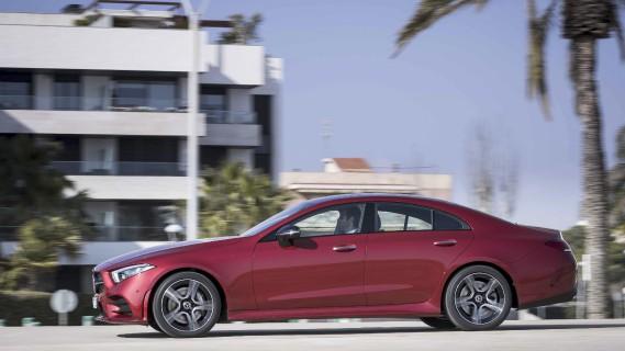 Mercedes CLS 2019 - banc d'essai Éric Lefrançois 16 avril 2018 - Crédit: Daimler ()