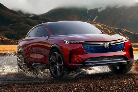 Buick dévoile une étude de style électrique avant le salon de Pékin