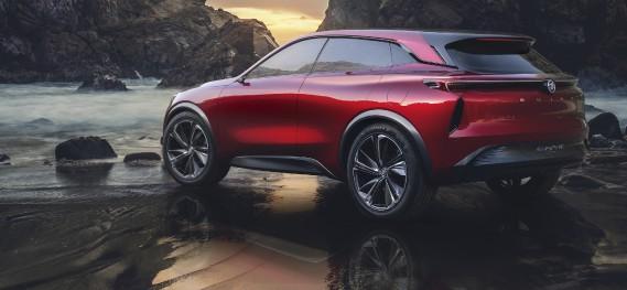 Le prototype tout électrique Buick Enspire. ()