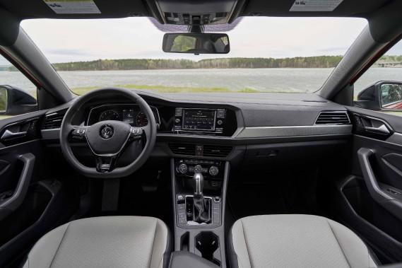 L'intérieur de la Jetta 2019 (Photo fournie par Volkswagen)