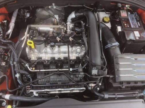 Le moteur de la Jetta 2019 (Photo fournie par Volkswagen)