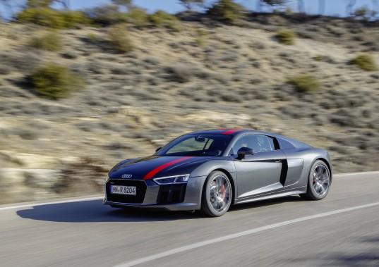 Audi R8 V10 RWS (La Presse)