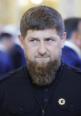 Le président de la république Tchétchène, Ramzane Kadyrov, était un des invités d'honneur lors de la cérémonie d'investiture du président russe Vladimir Poutine. (Photo Agence Spoutnik, via Reuters)