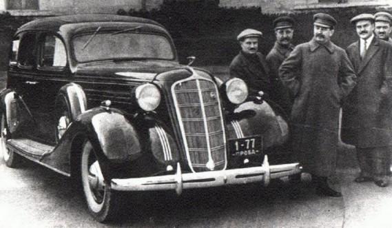 La Packard de Staline. (Photo Wikipédia)