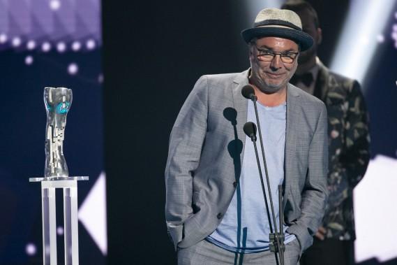 Iris de la meilleure interprétation masculine - premier rôle : Christian Bégin dans <em>Le problème d'infiltration</em>. (PHOTO : DAVID BOILY, LA PRESSE)