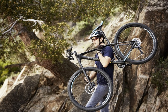 Le vélo de montagne Mercedes-Benz Focus. (photo Mercedes-Benz)