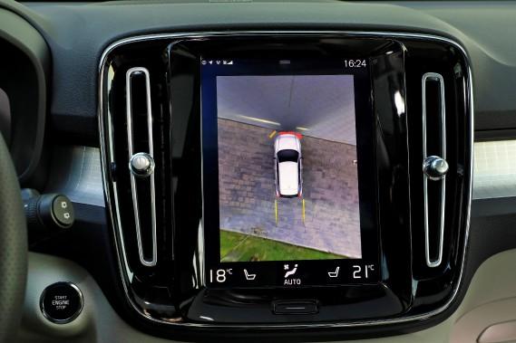 L'écran monté à la verticale est agréable à consulter et très intuitif. (La Presse)