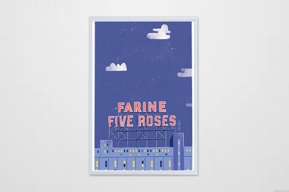 Nuit au Five Roses (Courtoisie : Alice Hosdain)