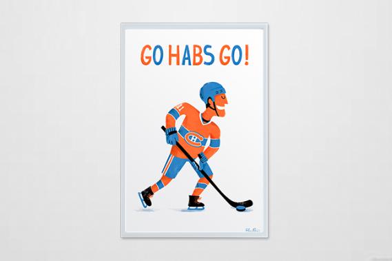 Go Habs Go! (Courtoisie : Alice Hosdain)