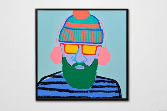 Beard man #4 (Photo : Daniel Roussel)