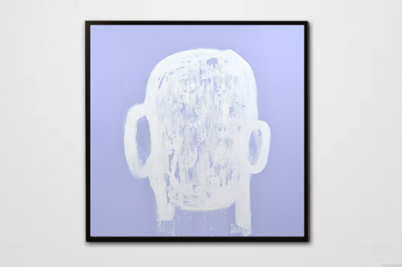 Head painting #42 (Photo : Daniel Roussel)