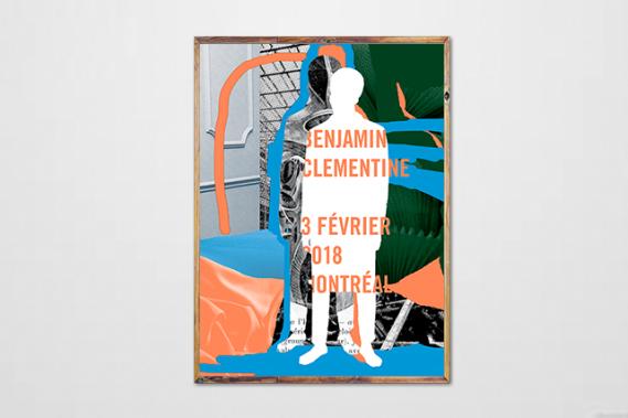 Benjamin Clementine (Courtoisie : Sébastien Lépine)