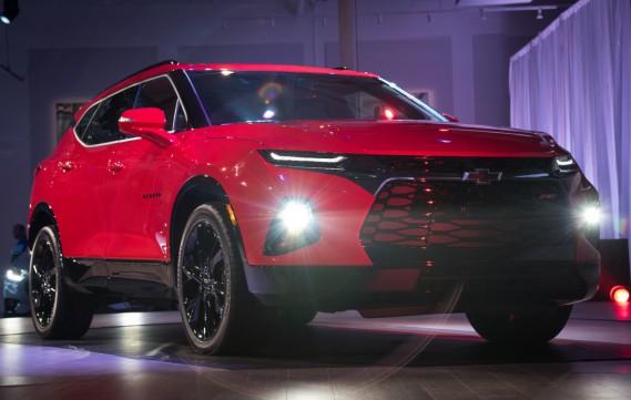 Le Chevrolet Blazer (livrée Premier), hier à Atlanta, Géorgie. (Photo Chevrolet)