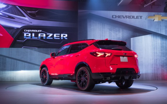 Le Chevrolet Blazer (Steve Fecht for Chevrolet)