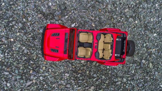 Jeep Wrangler 2018 - banc d'essai Éric Lefrançois 2 juillet 2018 - crédit: FCA ()