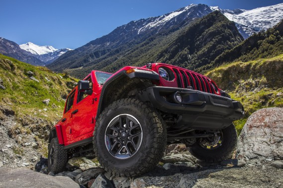 All-new 2018 Jeep Wrangler Rubicon. Photo fournie par Jeep (La Presse)