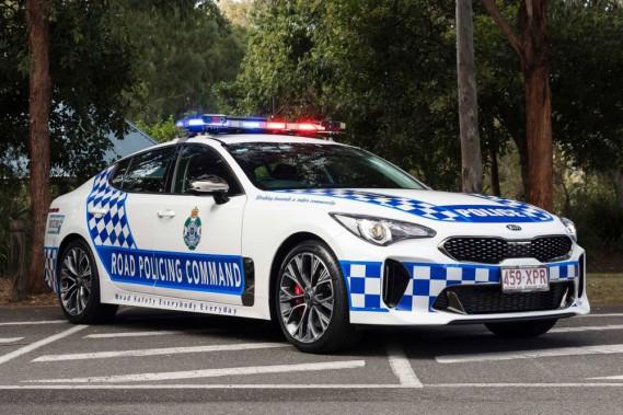La police de l'État du Queensland roulera en Kia Stinger GT ()