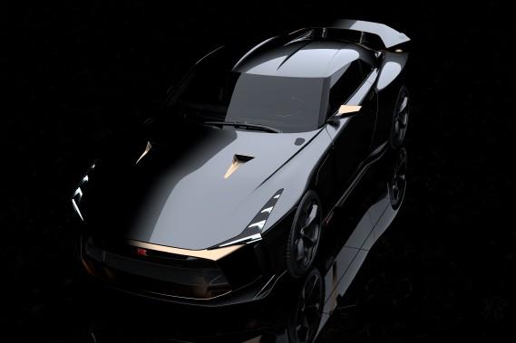 Une robe Italdesign pour la Nissan GT-R.<br /><br /> (Photo Italdesign)