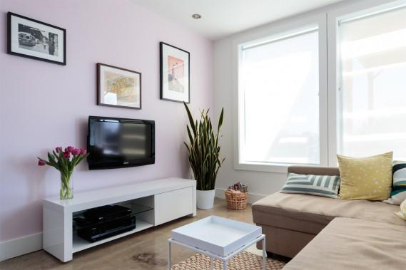 Fibres naturelles: Le salon a un petit côté exotique ou estival. (Photo Hugo-Sébastien Aubert, La Presse)