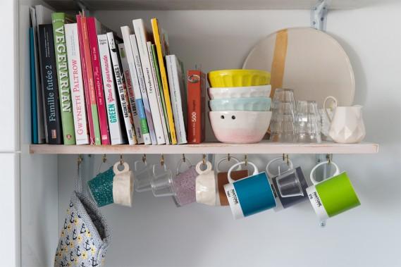 Tasses décoratives:Des tasses faites au cours d'ateliers de céramique (Photo Hugo-Sébastien Aubert, La Presse)