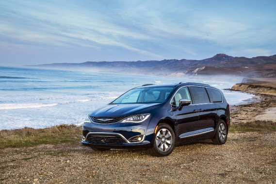 Le Chrysler Pacifica Hybride est assemblé à Windsor, en Ontario. (Photo Fiat-Chrysler)