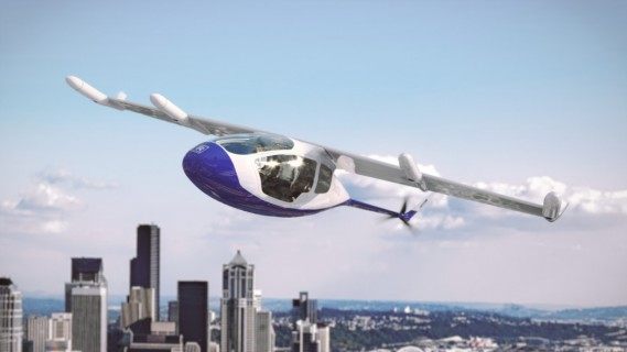 Le taxi volant EVTOL (electric vertical take off and landing) de Rolls-Royce. (Image Rolls-Royce)