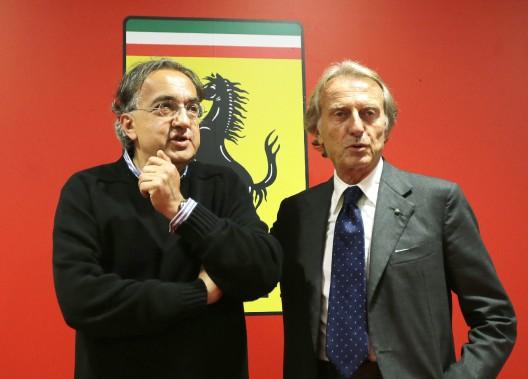 Sergio Marchionne était connu pour exiger beaucoup de ses subalternes et de les renvoyer si les résultats lui paraissaient insuffisants. En 2014, il avait obtenu la démission du PDG de Ferrari Luca Di Montezemolo et avait assumé lui-même la direction de la marque de voitures sport de luxe. (AP)