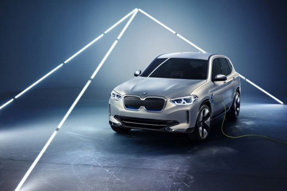 BMW IX3 (Photo BMW)