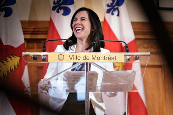 La mairesse Valérie Plante n'a possédé qu'une seule voiture dans sa vie : une Chevrolet Chevette. ()