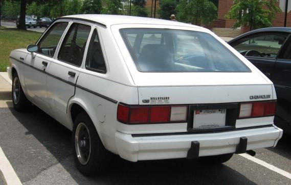 <strong>La voiture qui a marqué son enfance -</strong> La voiture de sa mère, une Chevrolet Chevette. (Photo Wikipédia)