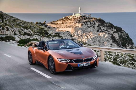 Essai exotique BMW i8 Roadster - Sportive branchée
