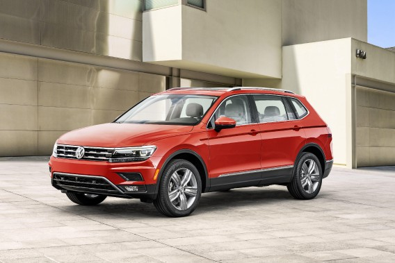 Volkswagen rappelle 17829 Tiguan au Canada.