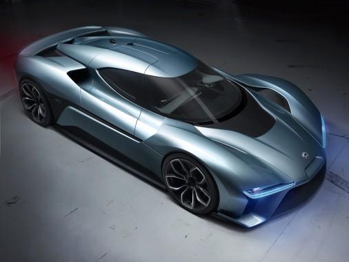 La voiture électrique autonome NIO EVE, présentée en mars 2017. (photo Nio via AFP)
