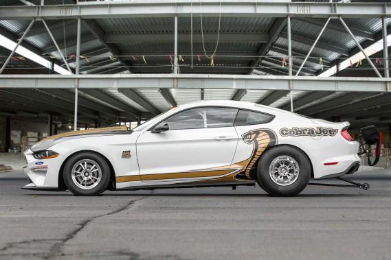 Ford ne dit pas quelle puissance le V8 de 5,2 litres développera. ()
