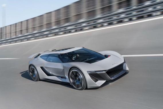 Audi présente une impressionnante étude de style électrique