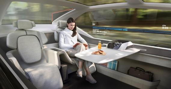 Volvo lance un nouveau concept futuriste