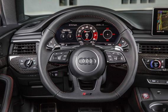 Audi RS5. Instrumentation. (.)