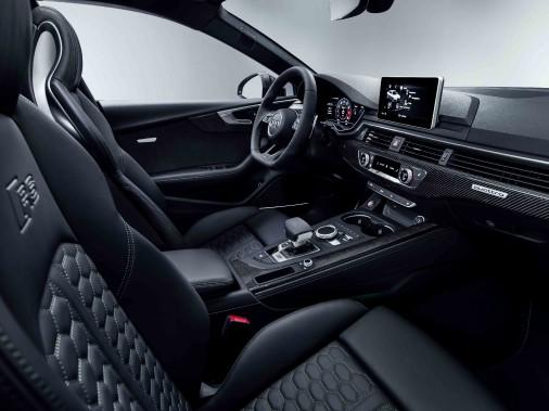 Audi RS5. Habitacle. (.)