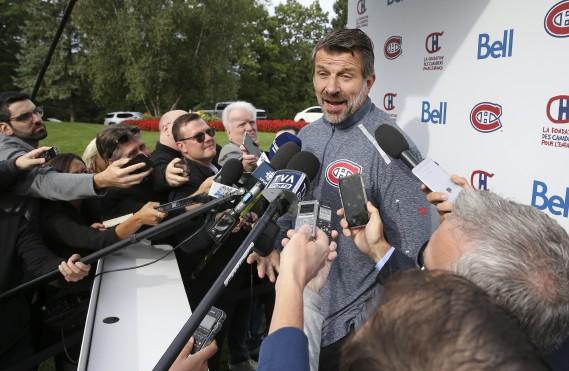 Marc Bergevin (Photo Robert Skinner, La Presse)