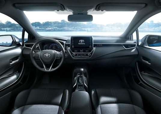 2019 Toyota Corolla Hatchback - crdit: Toyota (La Presse)