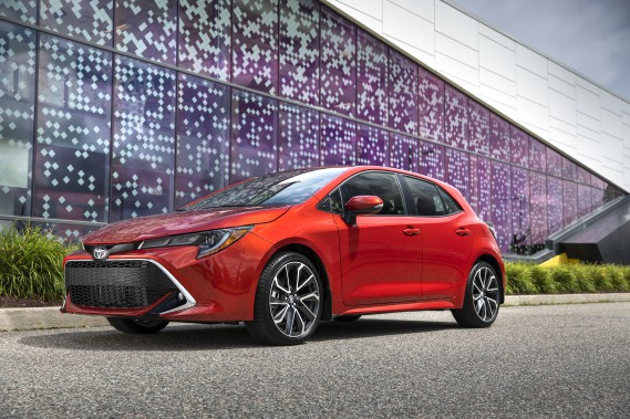 Toyota Corolla Hatchback 2019. Photo fournie par Toyota (La Presse)