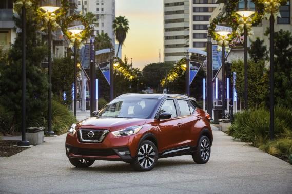 Le Kicks est le ticket d'entrée de la gamme Nissan dans la catégorie des utilitaires. (Toutes les photos Nissan)