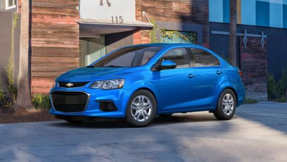 La Chevrolet Sonic. ()