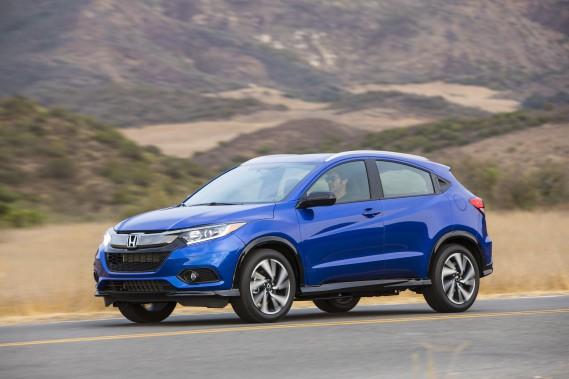 Le Honda HR-V est monté sur la même plateforme que la compacte Fit. (Toutes les photos Honda)
