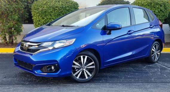 Le Honda HR-V est monté sur la même plateforme que la compacte Fit (ci-haut). ()