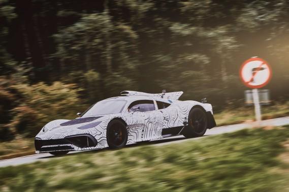 Le développement de la Mercedes-AMG One ralenti en raison de ses émissions