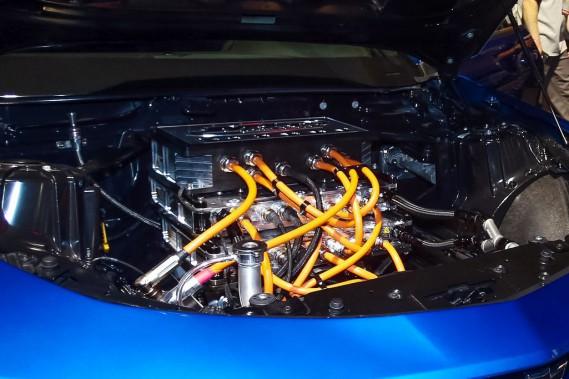 Les moteurs électriques de l'eCOPO produisent plus de 700 ch et 600 livres-pied de couple. (.)