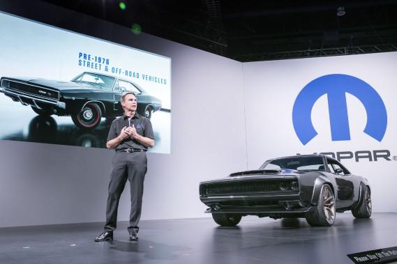 Chrysler présente son pachydermique V8 Hellephant de 1000 chevaux