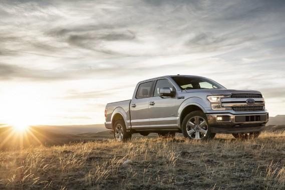 Le Ford F-150 diesel 2018 est mu par un V6 turbodieselde 3 litres développant 250 ch., 440 lb-pi de couple et consommant9,5 L/100km selon l'Énerguide. (Toutes les photos Ford)