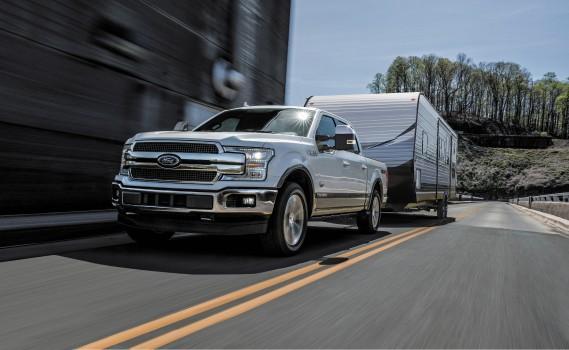Ford F-150 diesel 2018. ()